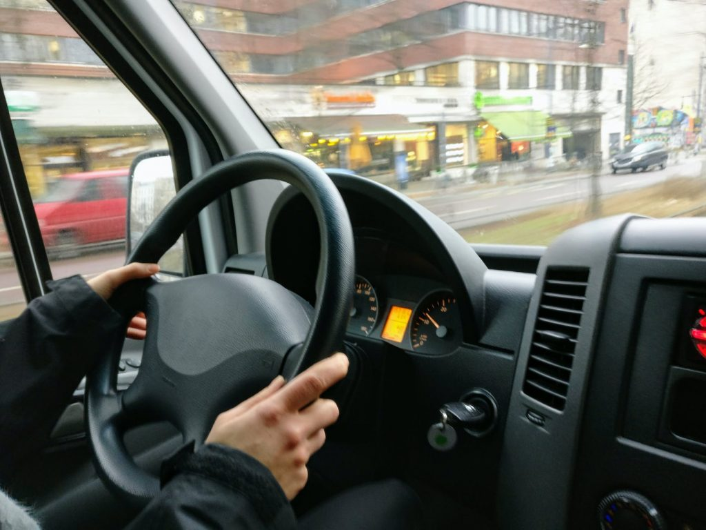 Automatic driving test car hire
